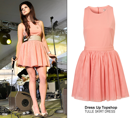 Lana Del Rey in Topshop | Performing at House Festival 2012