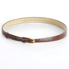 Maison Martin Margiela Printed Leather Embossed Bracelet