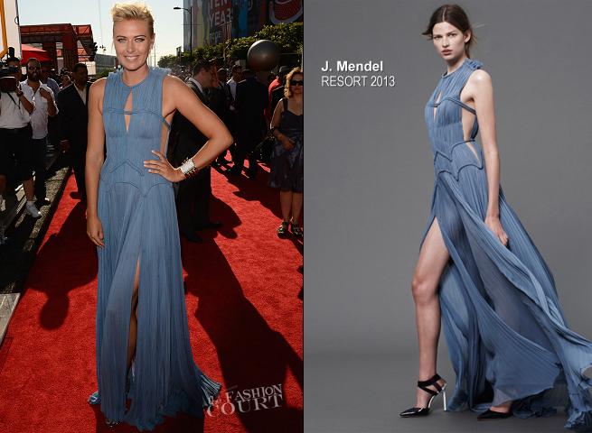 Maria Sharapova in J. Mendel | 2012 ESPY Awards