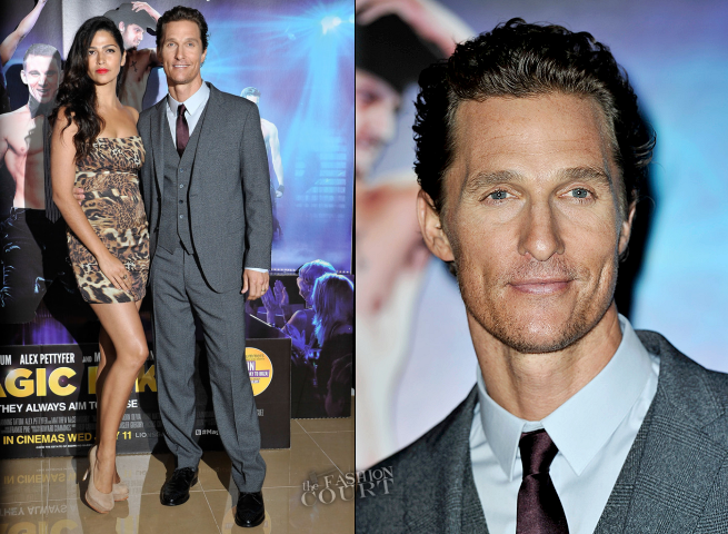 Matthew McConaughey in Dolce & Gabbana | 'Magic Mike' London Premiere