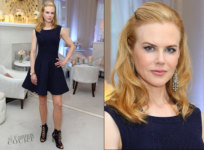 Nicole Kidman in Azzedine Alaïa | OMEGA House Launch