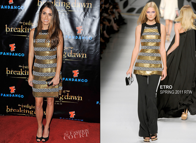 Nikki Reed in Etro | 'The Twilight Saga: Breaking Dawn Part 2' VIP Comic-Con Celebration