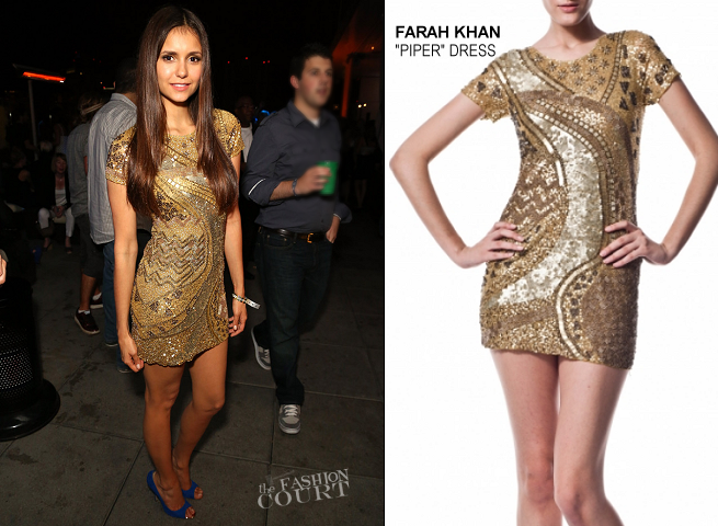 Nina Dobrev in Farah Khan | Maxim, FX & Fox Home Entertainment Comic-Con Party