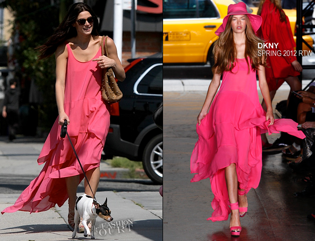 Runway-2-Street: Ashley Greene in Pretty in DKNY Pink!