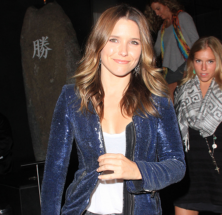 Sophia Bush Has a Sparkling Girls Night Out in IRO!
