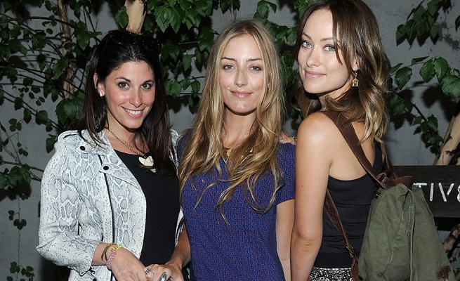 Olivia Wilde in A.L.C. | Alternative Apparel + Shopbop Launch The Message Bag