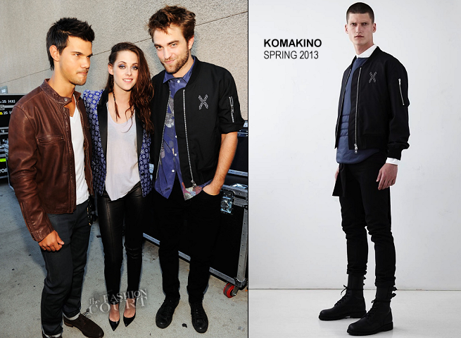 Robert Pattinson in Marc Jacobs & Komakino | 2012 Teen Choice Awards