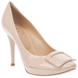 Roger Vivier Limelight Buckle Patent Leather Pumps