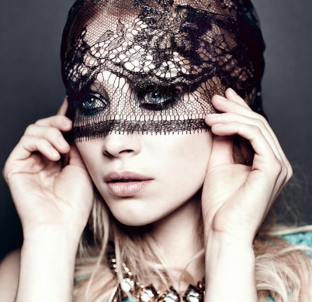 Amazing Lace: Sarah Gadon for FLARE's May Issue!