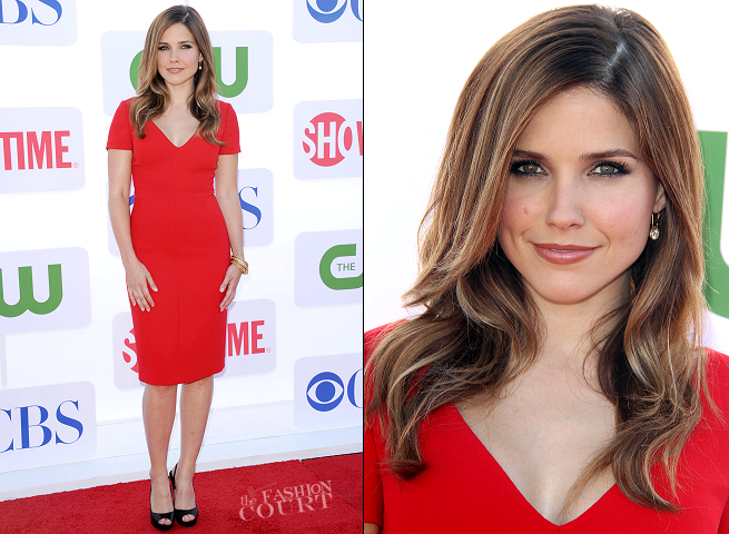 Sophia Bush in Prada | CW, CBS & Showtime 2012 Summer TCA Party