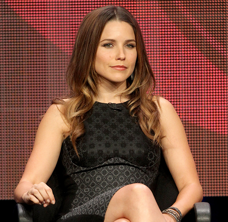 Sophia Bush in Stella McCartney | 2012 Summer TCA Tour: 'Partners' Panel