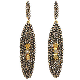 Sorelina Linea Nera Cleo Diamond Earrings