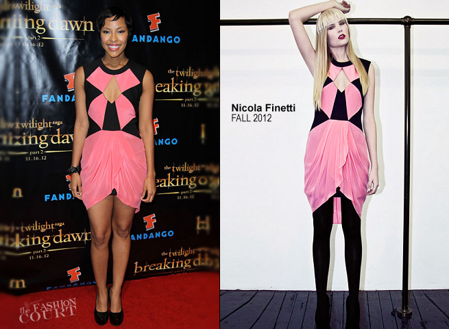Tracey Heggins in Nicola Finetti | 'The Twilight Saga: Breaking Dawn Part 2' VIP Comic-Con Celebration