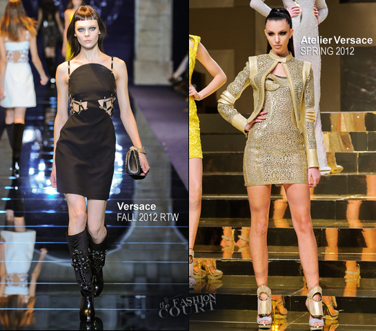The Atelier Versace Show Brings in a Star Studded Front Row for Paris Fashion Week!
