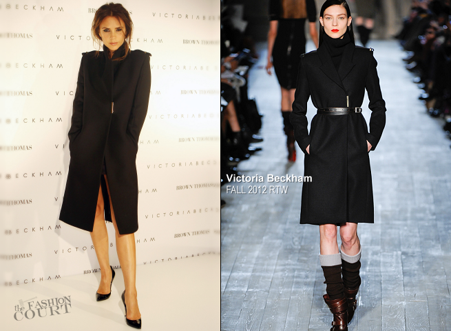 Victoria Beckham in Victoria Beckham Collection | Brown Thomas in Dublin