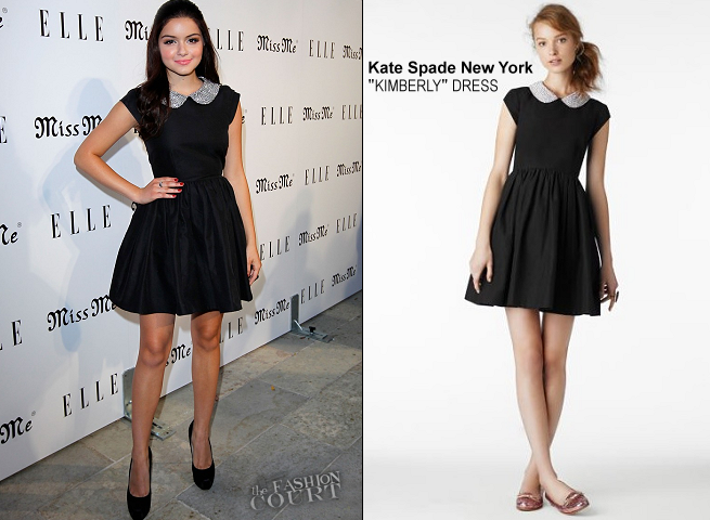 Ariel Winter in Kate Spade New York | ELLE Magazine Host The Songbirds' 'Miss Me' Album Release Party