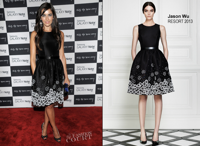 Camilla Belle in Jason Wu | Samsung Galaxy Note 10.1 Launch Event