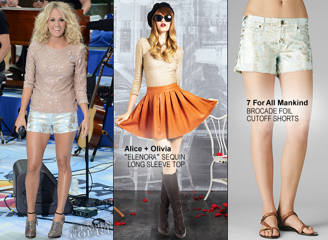 Carrie Underwood in Alice + Olivia & 7 For All Mankind | NBC's 'Today'