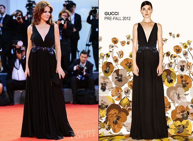 Claudia Gerini in Gucci | 'Superstar' Premiere - 2012 Venice International Film Festival