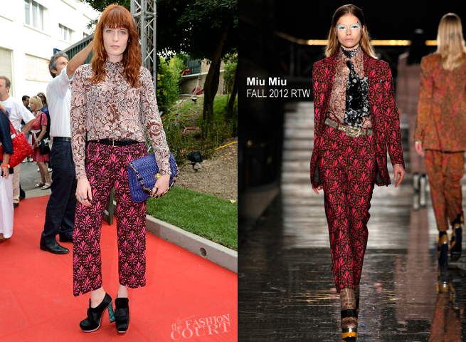 Florence Welch in Miu Miu | 'Women's Tales' Premiere - 2012 Venice International Film Festival