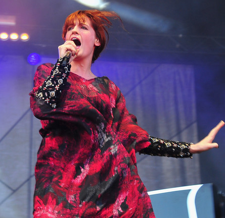 Florence Welch in TOUJOURI | 2012 Lollapalooza Music Festival - Day 3