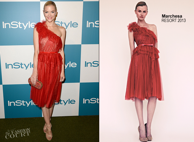 Jaime King in Marchesa | 11th Annual InStyle Summer Soiree