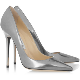 Jimmy Choo Metallic ANOUK Pumps
