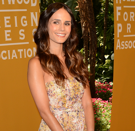 Jordana Brewster in MaxMara | Hollywood Foreign Press Association's 2012 Installation Luncheon