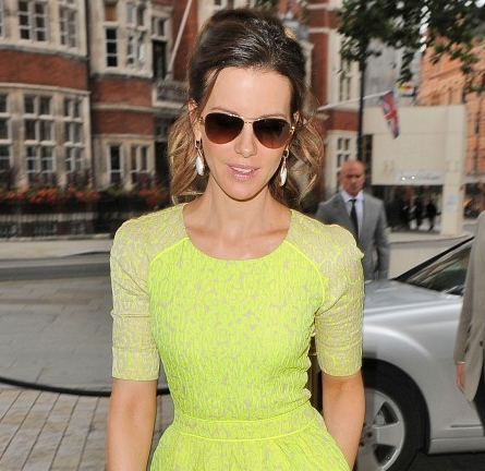 Kate Beckinsale in Preen | 'Total Recall' London Press Tour
