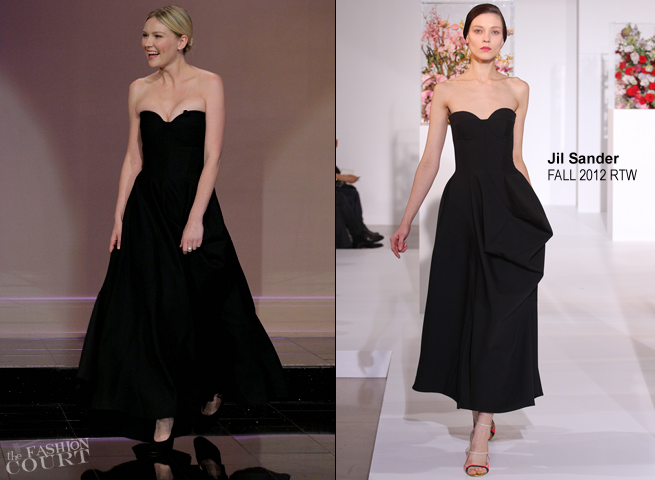 Kirsten Dunst in Jil Sander | 'The Tonight Show with Jay Leno'