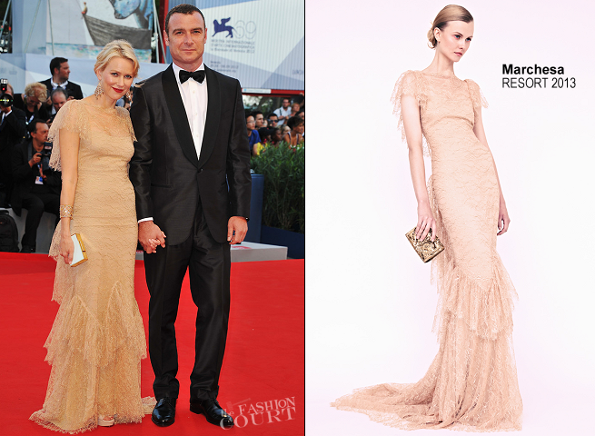 Naomi Watts in Marchesa | 'The Reluctant Fundamentalist' Premiere - 2012 Venice International Film Festival