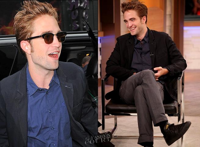 Robert Pattinson en KENZO | 'Good Morning America'