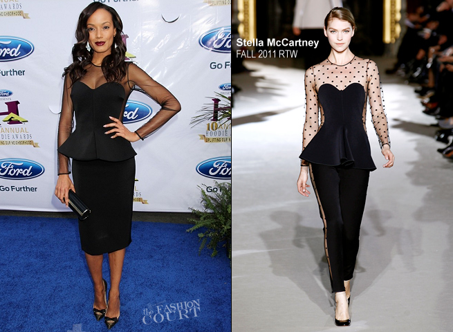 Selita Ebanks in Stella McCartney | 2012 Hoodie Awards