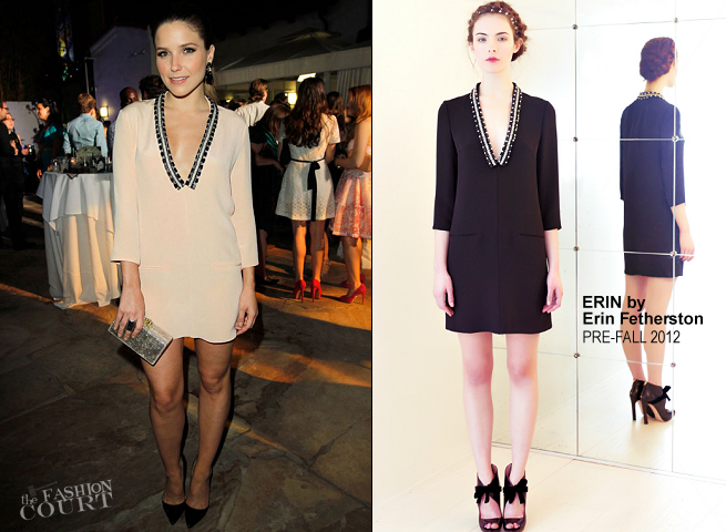 Sophia Bush in ERIN by Erin Fetherston | ELLE Magazine Host The Songbirds' 'Miss Me' Album Release Party