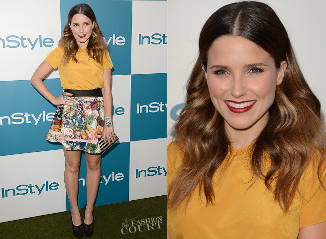 Sophia Bush in Ted Baker | 11th Annual InStyle Summer Soiree