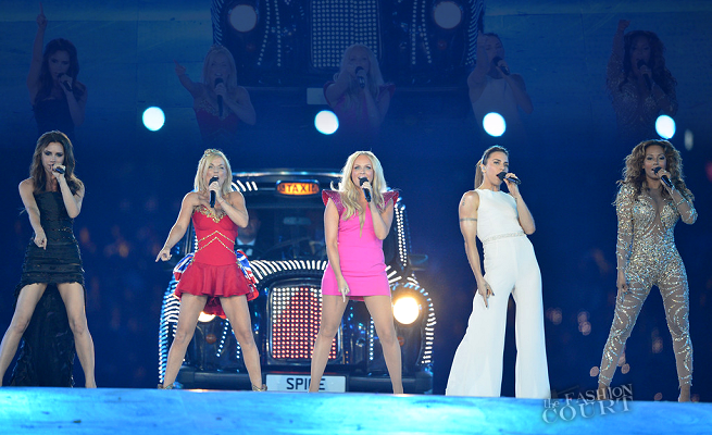 THE SPICE GIRLS | 2012 London Olympics Games Closing Ceremony