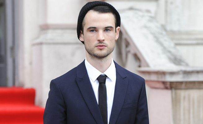 Tom Sturridge in Prada | 'On The Road' London Premiere