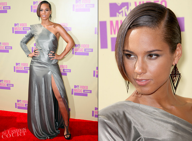 Alicia Keys in Alexandre Vauthier | 2012 MTV Video Music Awards