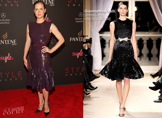 Amy Adams in Giambattista Valli Couture | 2012 Style Awards
