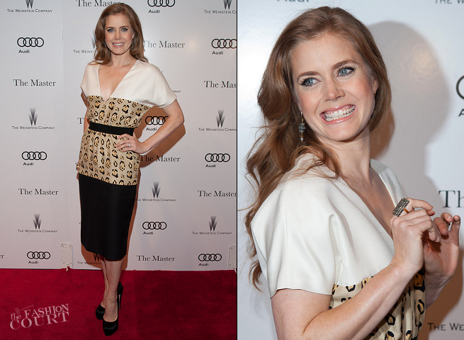 Amy Adams in Giambattista Valli | 'The Master' NYC Premiere