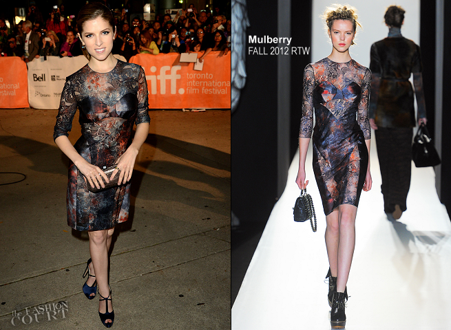 Anna Kendrick in Mulberry | 'The Company You Keep' Premiere - 2012 Toronto International Film Festival