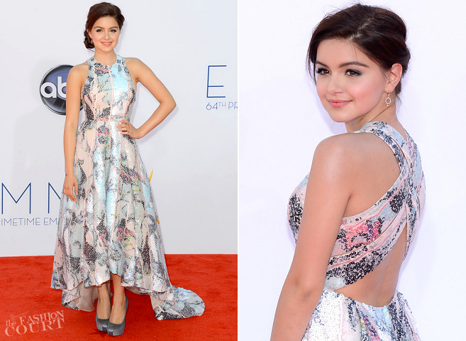 Ariel Winter in Katharine Kidd | 2012 Emmy Awards