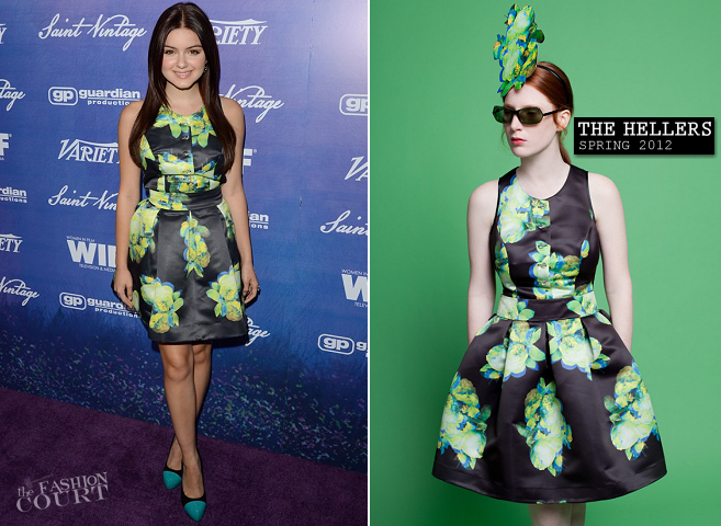 Ariel Winter in The Hellers | Variety And Women In Film Pre-Emmy Event