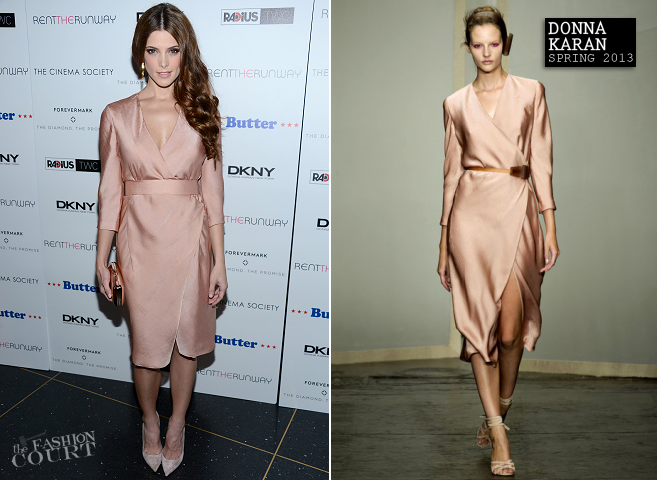 Ashley Greene in Donna Karan | 'Butter' NYC Premiere