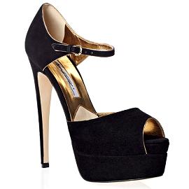 Brian Atwood TRIBECA Platform Ankle Strap Sandals