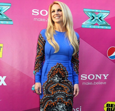 Britney Spears in Stella McCartney | 'The X Factor' Season 2 Premiere Party