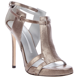 Camilla Skovgaard Bronze Metallic Sandals