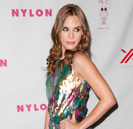 Christa B. Allen in MaxMara & Rebecca Minkoff | NYLON Magazine + SONY September Issue Launch Party