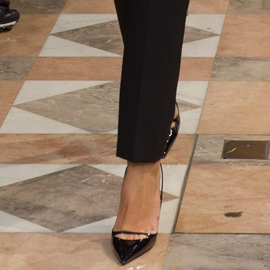 Christian Dior Fall 2012 Haute Couture Strap Toe Pumps