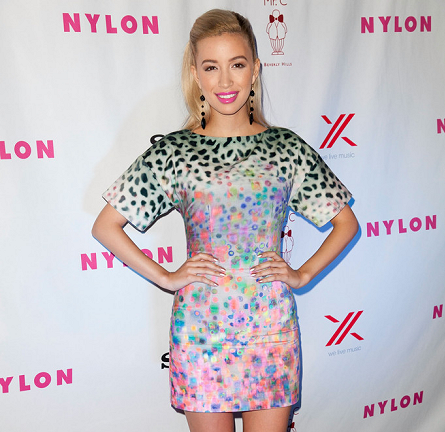 Christian Serratos in H&M | NYLON Magazine + SONY September Issue Launch Party
